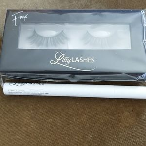 Lilly Lashes New In Box & Power Liner Adhesive